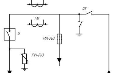 Схема электрическая принципиальная 2КВЭМ